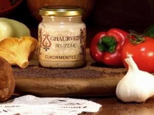 Fitnesz - cukormentes mustár Vegánok, és cukormentes étrenden élők is fogyaszthatják. Natúr ízvilága egyedülálló.